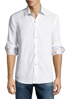 Robert Graham Men's  Desert Long Sleeve Button-Down Shirt