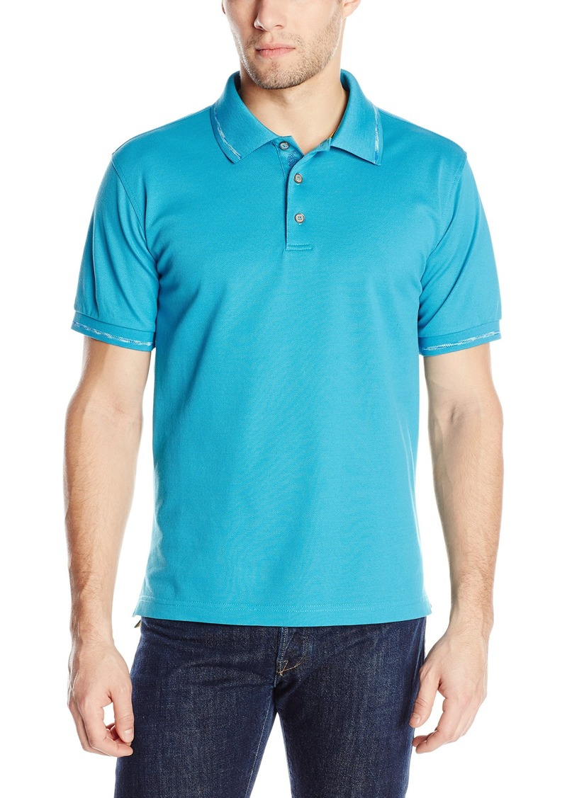 Robert Graham Men's Donovans Reef Short-Sleeve Knit Polo Shirt