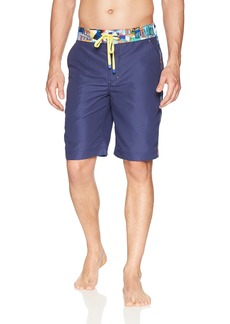Robert Graham Men's Dos Rios Woven Swim Board Short