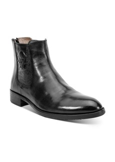 Robert Graham Men's Dutchy Skull Leather Boots