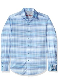 Robert Graham Men's East of Eden L/s Classic Fit Woven Shirt  XL