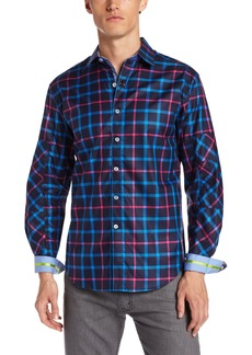 Robert Graham Men's Floyd Long Sleeve Woven Shirt