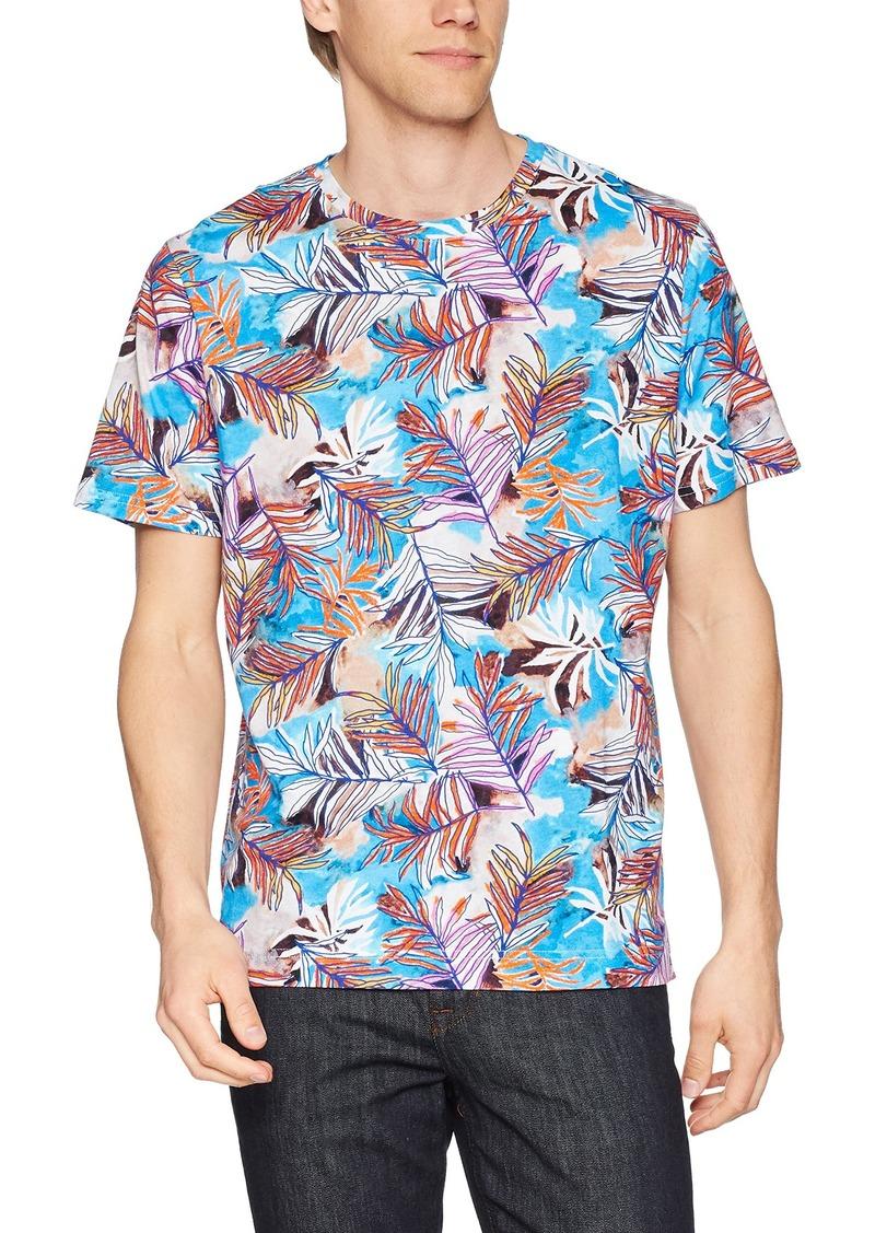 Robert Graham Men's Freshwater Short Sleeve Crew Neck T-Shirt