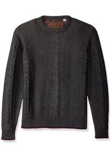 Robert Graham Men's Fulton Chain Long Sleeve Sweater  3XLARGE
