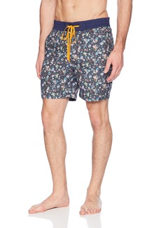 Robert Graham Men's Gali Woven Swim Trunk