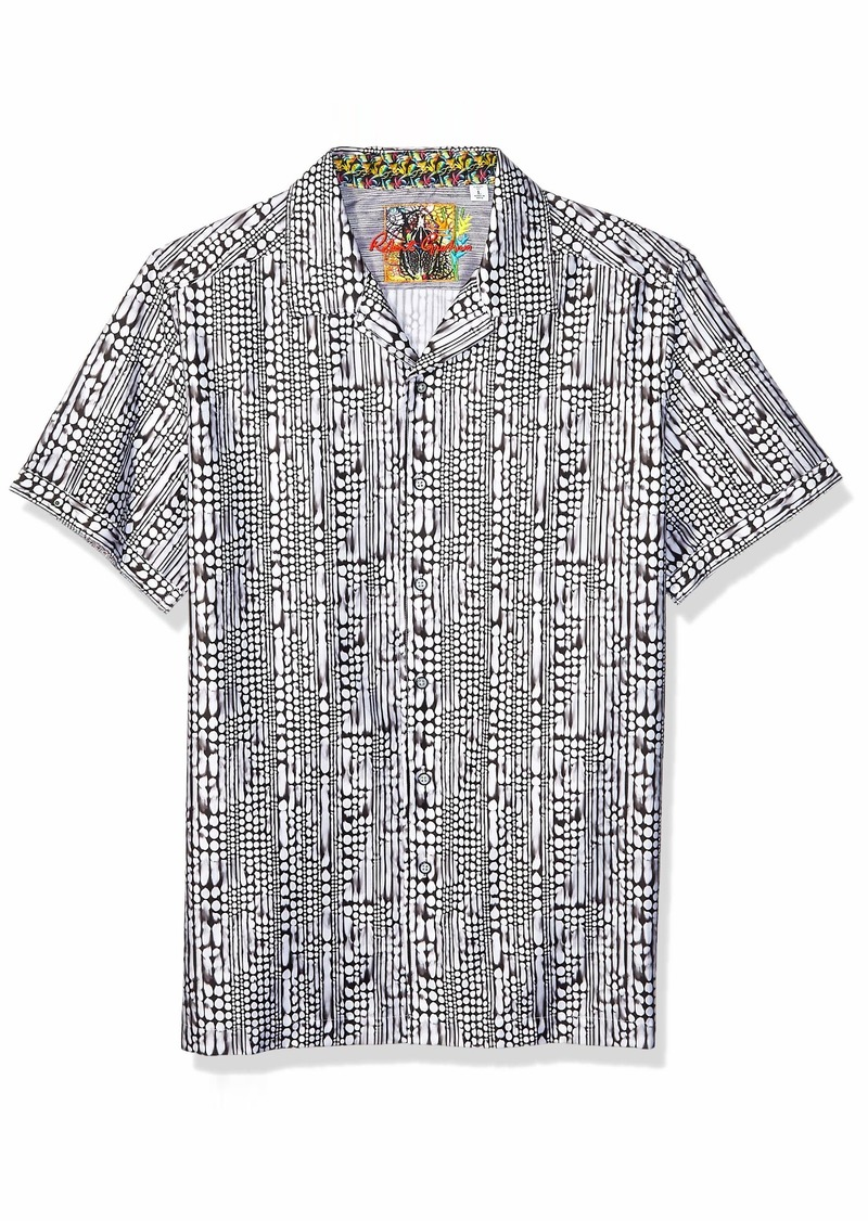 Robert Graham Men's Goliath S/S Woven Shirt