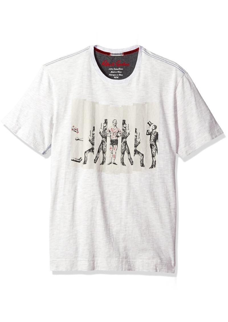 Robert Graham Men's Guns Ready Short Sleeve Knit Graphic Tshirt