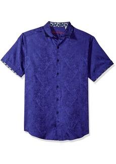 Robert Graham Men's Gypsy Short Sleeve Classic Fit Sport Shirt