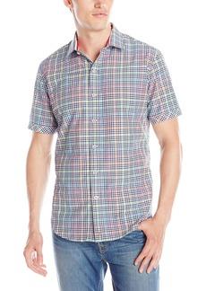 Robert Graham Men's Hot Spot Short Sleeve Button Down Shirt  XXX-Large
