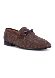 Robert Graham Men's Hurst Corded-Leather Loafers