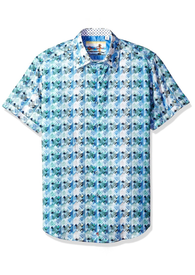 Robert Graham Men's Ipanema Short Sleeve Classic Fit Sport Shirt