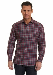 Robert Graham Men's Jamestown Long Sleeve Classic Fit Woven Shirt