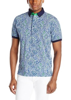 Robert Graham Men's Juneau-Short Sleeve Polo
