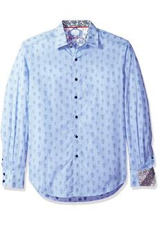 Robert Graham Men's Kinderhook Classic Fit Shirt  arge