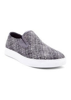 Robert Graham Men's Kitson Leather Slip-On Sneakers