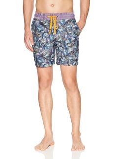 Robert Graham Men's LA Pinta Woven Swim Trunk