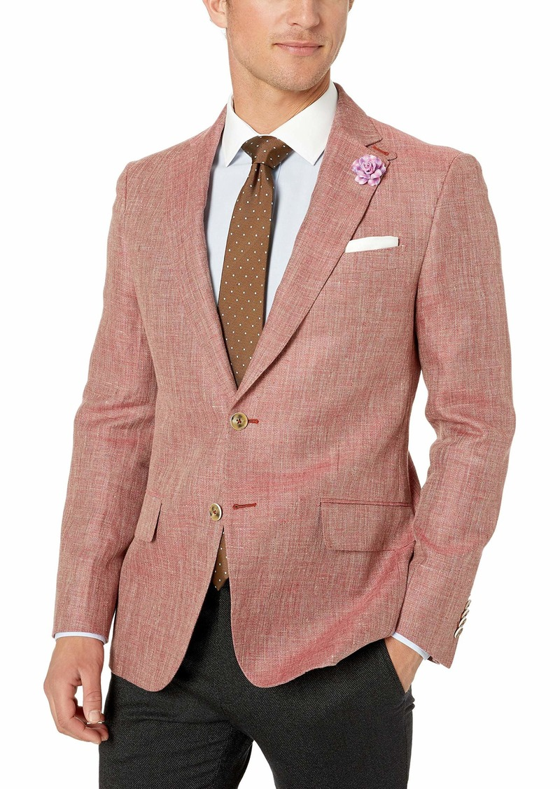 Robert Graham Men's Leland Tailored FIT Sportcoat red