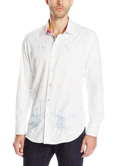 Robert Graham Men's Limited Edition Skiing Bobcats Long-Sleeve Button-Down Shirt