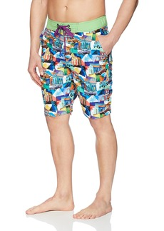 Robert Graham Men's Mambo Woven Swim Board Short