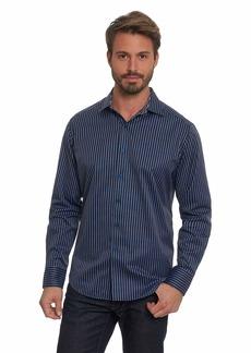 Robert Graham Men's Marion Classic Fit Long Sleeve Woven Shirt  Large