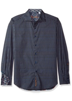 Robert Graham Men's Marion Classic Fit Long Sleeve Woven Shirt  XLarge