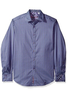 Robert Graham Men's Matira Classic Fit Sport Shirt  3XLARGE