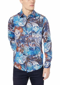 Robert Graham Men's Mayar Long Sleeve Classic FIT Shirt