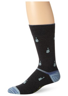 Robert Graham Men's Medusa Sock