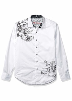 Robert Graham Men's Memento L/S Woven Shirt  XXX-Large