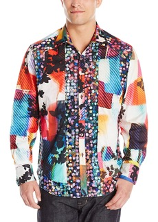 Robert Graham Men's Mojave Mirage Limited Edition Long Sleeve Button Down Shirt