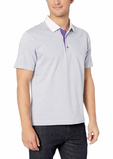 Robert Graham Men's NORTHCLIFF Short Sleeve Knit Polo