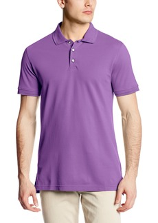 Robert Graham Men's Numero Short-Sleeve Knit Polo Shirt