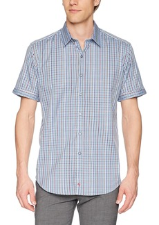 Robert Graham Men's Palma Short Sleeve Classic FIT Shirt