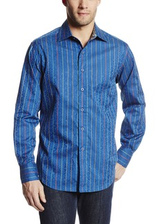 Robert Graham Men's Pasquale-Long Sleeve Woven Shirt