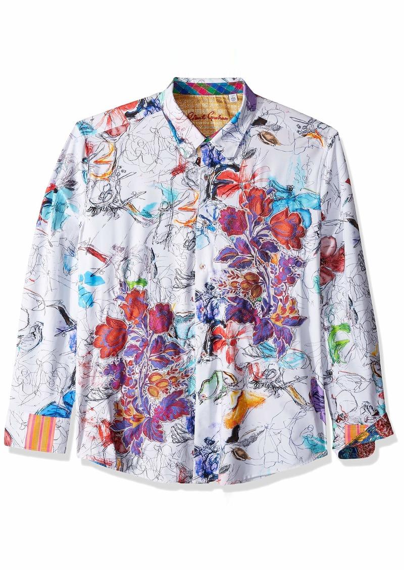 Robert Graham Men's PETALTOTHEMETAL LMT ED L/S Woven Shirt