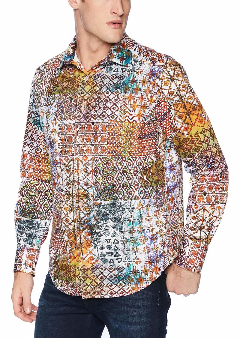 Robert Graham Men's Rhone River Long Sleeve Classic FIT Shirt