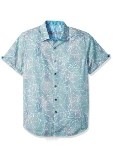 Robert Graham Men's Rio Short Sleeve Sport Shirt