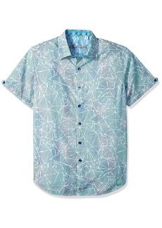 Robert Graham Men's Rio Short Sleeve Sport Shirt