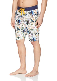 Robert Graham Men's Rumba Woven Swim Board Short