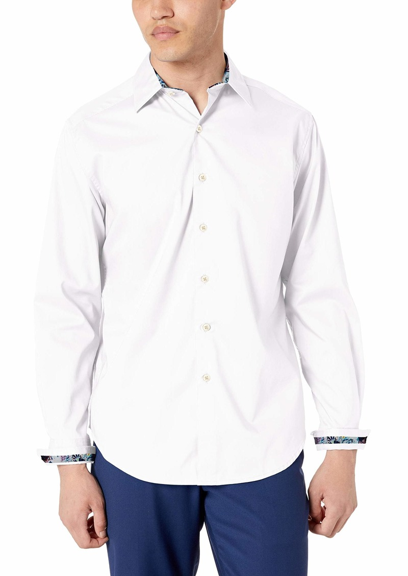 Robert Graham Mens Rutherford Long Sleeve Classic Fit Shirt
