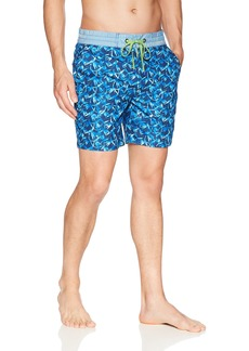 Robert Graham Men's Santa Maria Woven Swim Trunk