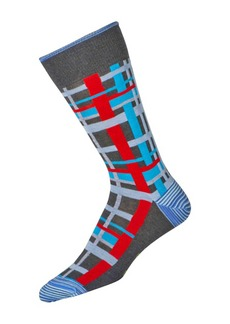 Robert Graham Men's Semolina Sock