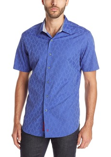 Robert Graham Men's Seven Wonders Short-Sleeve Button-Down Shirt