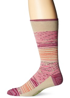 Robert Graham Men's Sinnar  Sock Size:10-13/Shoe Size: 6-12