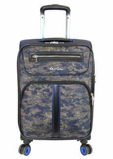 Robert Graham Men's Softshell Spinner Luggage Expandable 8 Wheel Easy Glide