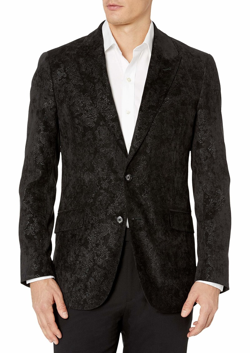 Robert Graham Men's Spruce Woven Sportcoat