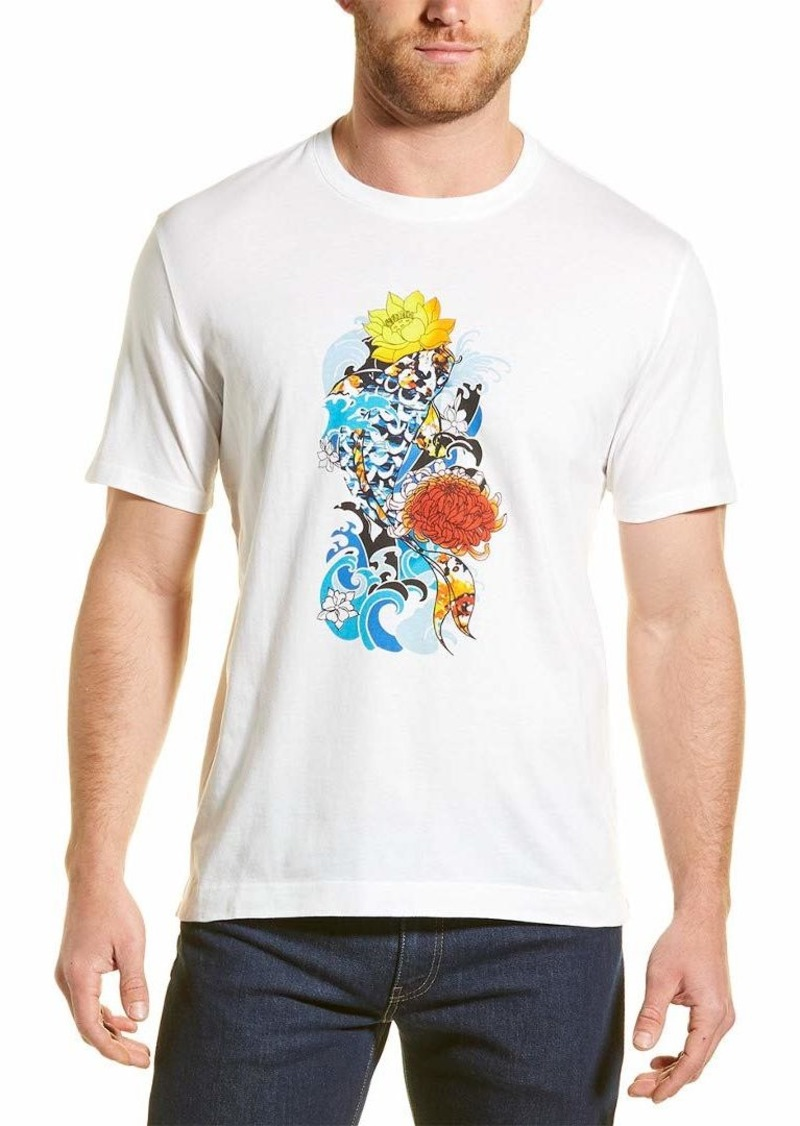 Robert Graham Men's Stop Being KOI Graphic Tshirt  3XLARGE