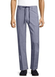 Robert Graham Men's Sucker Tailored FIT Pant