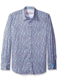 Robert Graham Men's Tailored Fit Stafford Sport Shirt -  -