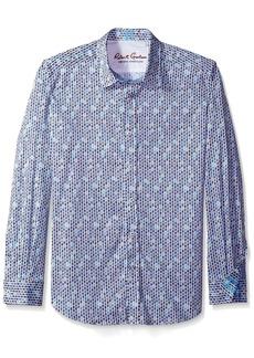 Robert Graham Men's Tailored Fit Stafford Sport Shirt - X-Large -